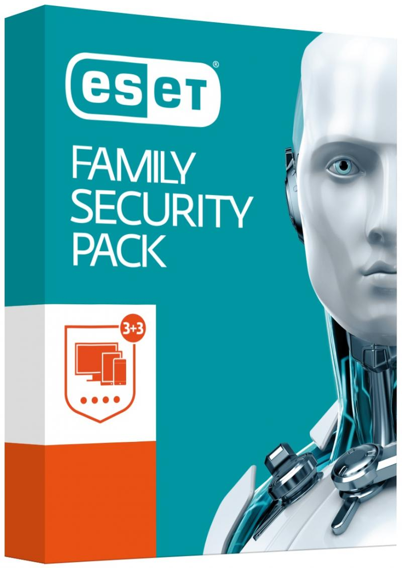 ESET Family Security Pack 3PC / 1 rok